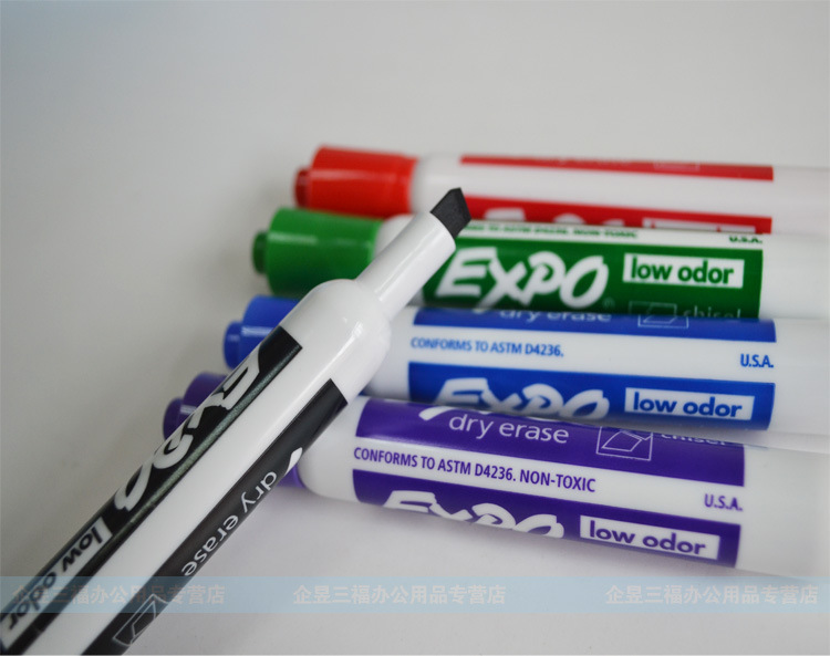 Point Dry Erase Markers Low Odor Alcohol-Based Ink, Designed for Whiteboards, Glass and Most Non-Porous Surfaces