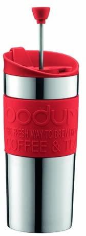 Bodum Travel Press, 350ml, Red: Home & Kitchen