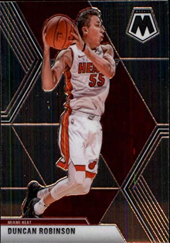 Basketball NBA 2019-20 Panini Mosaic #170 Duncan Robinson Heat: Collectibles & Fine Art