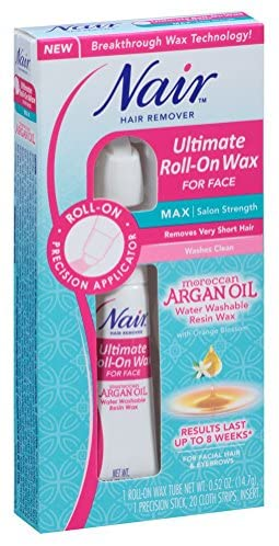 Nair Hair Remover Ultimate Roll-On Wax for Face 0.52 Ounce (15ml): Health & Personal Care