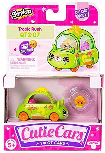 Shopkins Cutie Cars Tropic Rush QT2-07: Toys & Games
