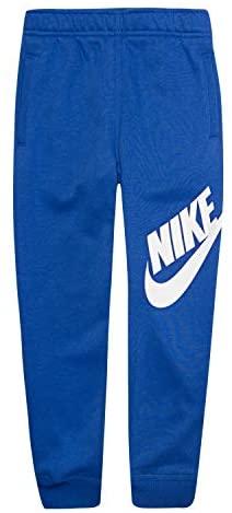 Nike Boys' Toddler Fleece Jogger Pants, Game Royal/White, 3T: Clothing