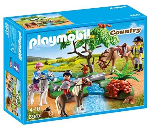 Playmobil 6947 Country Horseback Ride: Toys & Games
