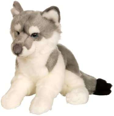 Gipsy – 054692 – Wolf Lying Down 30 cm Grey: Toys & Games