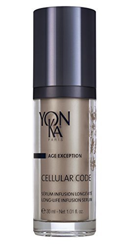 YON-KA AGE EXCEPTION CELLULAR CODE SERUM (1 Ounce / 30 Milliliters) - Revolutionary Cell-Energy Complex That Boosts Cellular Longevity and Oxygenation and Reinforces the Skin's Defense Potential: Beauty