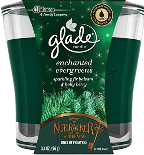 Glade Jar Candle Air Freshener, Enchanted Evergreens, 3.4 Ounces: Home & Kitchen