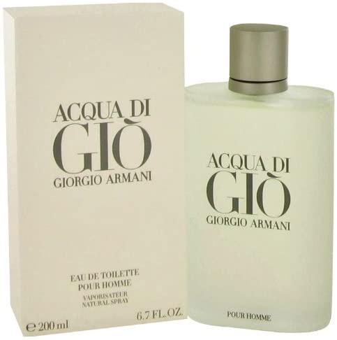 Giorgio Armani 'Acqua Di Gio' Men's 6.7-Ounce EDT Spray: Health & Personal Care