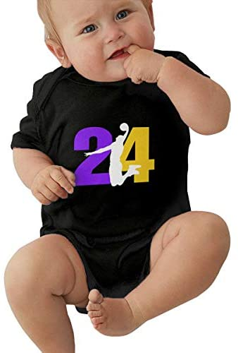 BenF Kobe-Bryant Baby Onesie Outfits Short Sleeve T-Shirt Bodysuit Romper for 3 Months: Clothing