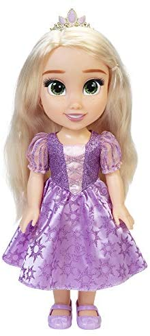 """Disney Princess My Friend Rapunzel Doll 14"""" Tall Includes Removable Outfit and Tiara: Toys & Games"""