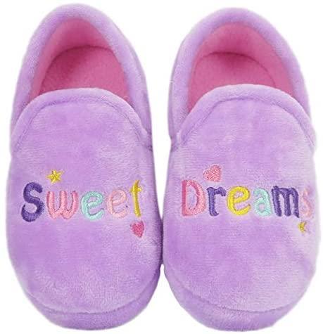 Wonder Nation Toddler Girls Sweet Dreams Plush Slippers Size   Slippers
