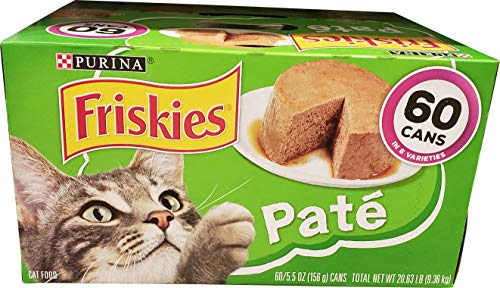 Purina Friskies Cat Food Poultry/Seafood 60 Cans /5.5 Oz Net Wt 330 Oz, 330 oz: : Grocery & Gourmet Food