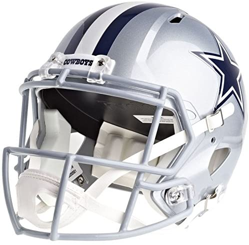 Riddell Dallas Cowboys Officially Licensed Speed Full Size Replica Football Helmet : Sports & Outdoors
