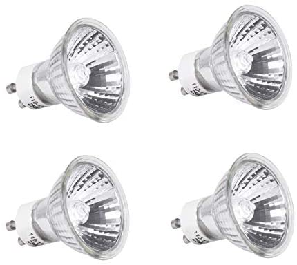Mandala Crafts Replacement Bulb for Candle Warmer, Scent Wax Burner, Fragrance Melt; Halogen 120v 25-watt GU10, 4 Packs: Home Improvement