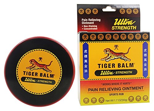 Tiger Balm Ultra Strenght Pain Relief, 50g,260298: Industrial & Scientific