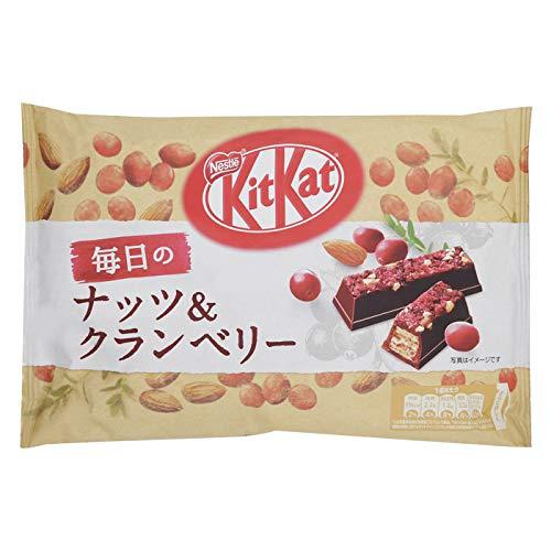 Nestlé Japan Kit Kat Daily Nuts & Cranberries 109g 1 bag Japan Import : Grocery & Gourmet Food