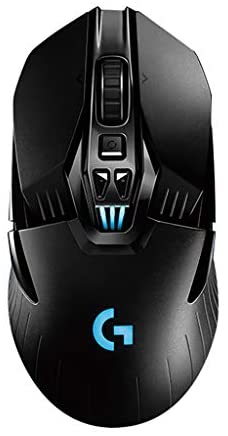 Logitech G903 Wireless Mouse with Game Cable Wired with Wireless Mode 12000 DPI Topi RGB