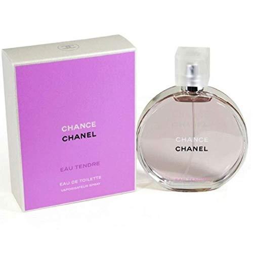 Chaneⅼ Chance Eau Tendre Eau de Toilette Women Spray 3.4 Fl. OZ. / 100ML. : Beauty