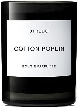 BYREDO Cotton Poplin Fragranced Candle 8.4 oz. / 60hr : Everything Else