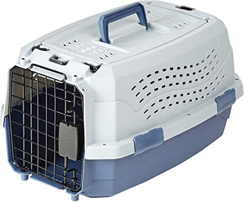 Two-Door Top-Load Hard-Sided Pet Travel Carrier, 19-Inch : Pet Supplies