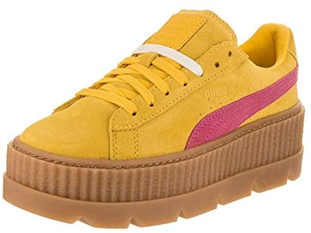 PUMA Womens Fenty by Rihanna Suede Cleated Creeper Casual Sneakers, | Shoes