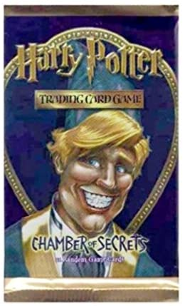 Harry Potter Chamber of Secrets Trading Card Game Booster Pack: Toys & Games
