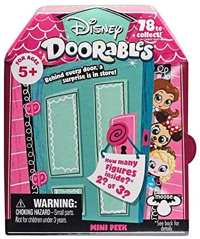 Kids Girls Girls Toys Disney Doorables Multi Peek (Bonus Donut Lipgloss) is IT 2 or 3 Mystery Surprises Inside to Collect?: Toys & Games