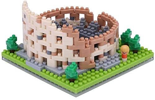 Nanoblock Colosseum Building Kit: Toys & Games