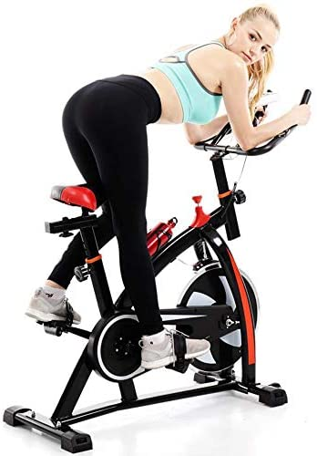 Kimanli Indoor Spinning Bicycle Ultra-Quiet Exercise Bike Home Bicycle Fitness Equipment: Kitchen & Dining