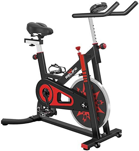 Exercise Bike Indoor Cycling Bike Stationary Bicycle with Resistance Workout Home Gym CardioFitness Machine Upright Bike : Sports & Outdoors