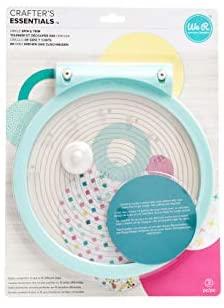 We R Memory Keepers 0633356600916 Trimmer Trimmer & Mat-Circle Spin and Trim, Multicolor : Office Products