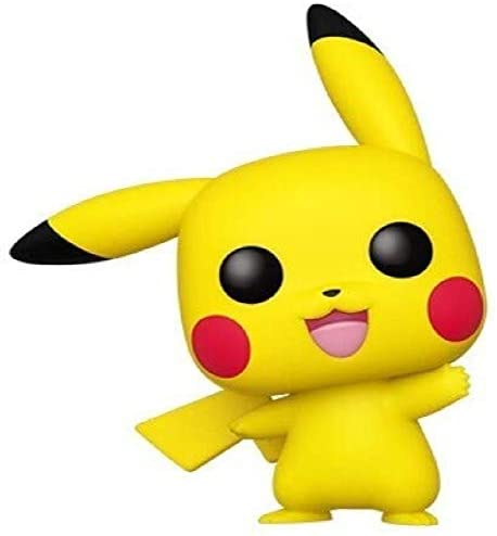 Funko Pop! Pokemon - Pikachu (Waving): Toys & Games