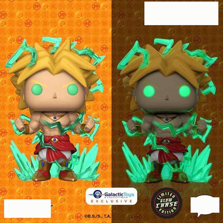"Pop Funko Animation Legendary Super Saiyan Broly #623 Exclusive 6"": Toys & Games"