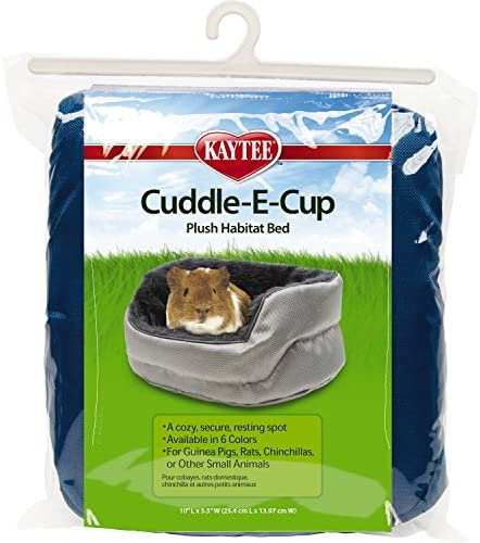 Kaytee Super Sleeper Cuddle-E-Cup With Bag, Color May Vary : Pet Beds : Pet Supplies