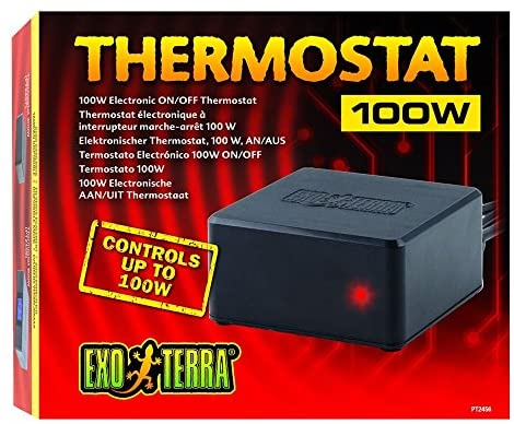 Hagen Exo Terra ON/Off Thermostat (100 Watt) : Pet Supplies