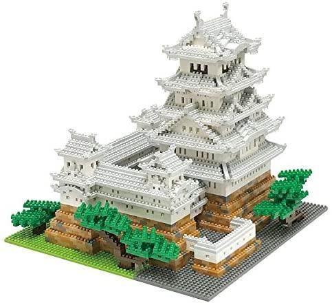 Kawada Nano-Block NB-042 Himeji Castle Special Deluxe Edition: Toys & Games