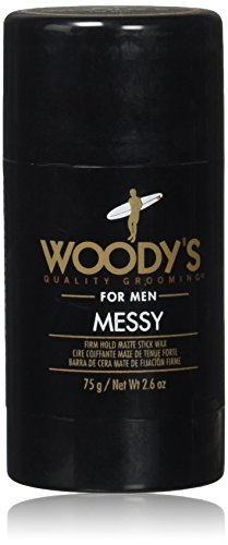 Woody's Messy Firm Hold Matte Stick Wax, 2.6 Ounce : Beauty