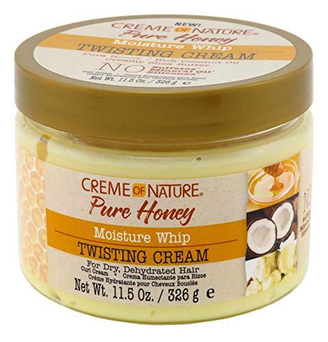 Creme Of Nature Pure Honey Twisting Cream 11.5 Ounce Jar (340ml) (2 Pack) : Beauty