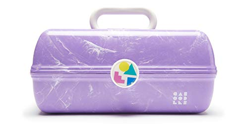 Caboodles On-The-Go Girl Retro Case, Lavender Marble: Beauty