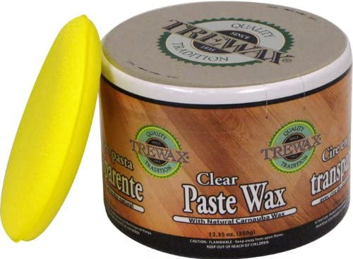 Trewax Paste Wax Clear, Pack of 2, 12.35-Ounce: Home & Kitchen