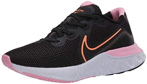 Nike Women's Race Running Shoe, Black Pink | Road Running