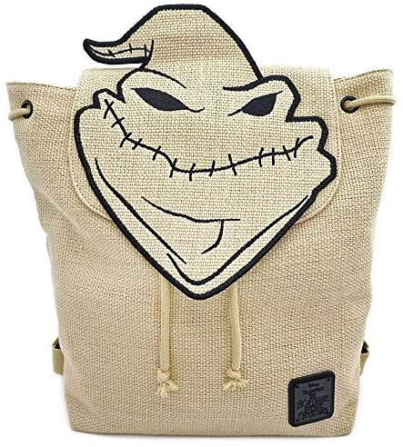 Nightmare Before Christmas Oogie Boogie Burlap Backpack Standard | Casual Daypacks