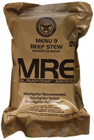 Beef Stew MRE Meal - Genuine US Military Surplus Inspection Date 2020 and Up : Grocery & Gourmet Food