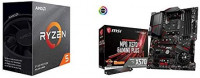 AMD Ryzen 5 3600 6-Core, 12-Thread Unlocked Desktop Processor with Wraith Stealth Cooler with MSI MPG X570 Gaming Plus Motherboard at