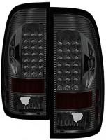 Carpart4u for Ford F150 Styleside 1997-2003 F150 F250 F350 F450 99-07 LED Light bar rear brake tail lights lamps: Automotive
