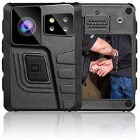BOBLOV New M852 128GB Body Camera, GPS Body Camera with Dual Screen, Body Mounted Camera with Manually Night Vision and 8Hours Recording, Charging Dock : Electronics