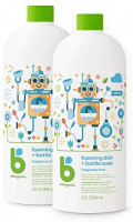 Babyganics Foaming Dish & Bottle Soap , Fragrance Free, 32oz, 2 Pack, Packaging May Vary: Health & Personal Care