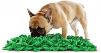 """Tamu style Dog Snuffle Mat for Feeding, Hunting, Foraging (12½"""" x 18½"""") Playful Food and Treat Surface & Small, Medium, Large Breed Pets & Durable, Reusable, Machine Washable: Pet Supplies"""