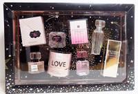 Victoria's Secret Eau De Parfum Gift Set - .25 oz in Love, Tease, Bombshell, and Heavenly : Beauty