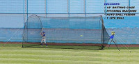 Heater Sports Sandlot 4-in-1 Home Batting Cage : Sports & Outdoors