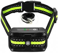 Bark Collar [ Newest 2019 Upgraded ] Rechargeable Shock Training Collar with IP67 Waterproof and Smart Detection Module w/Triple Anti Barking Modes: Beep/Vibration/Shock for Small/Medium/Large Dogs : Pet Supplies